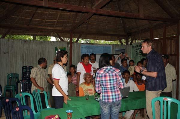 West Timor, farmer engagement
