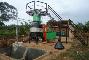 Electricity-generating gasifier from