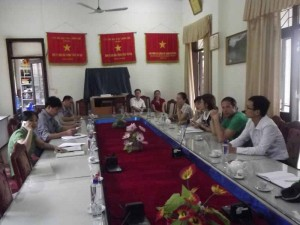 B4SS meeting local government in Vietnam